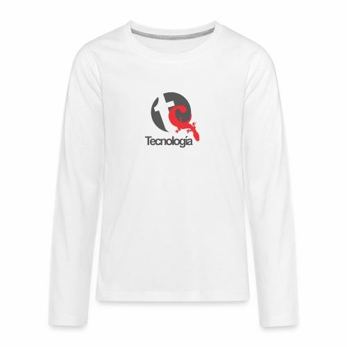 Tecnologia - Teenager Premium Langarmshirt