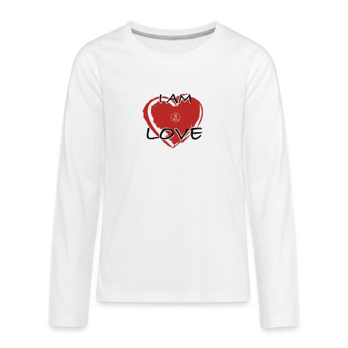 IM LOVE MaitriYoga - T-shirt manches longues Premium Ado