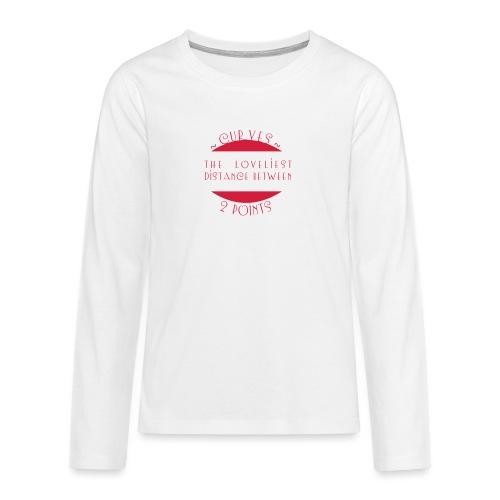 Curves - Teinien premium pitkähihainen t-paita