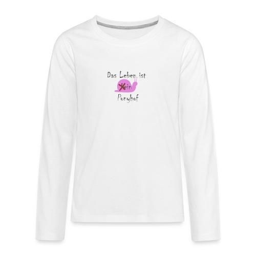 Ponyhof - Teenager Premium Langarmshirt