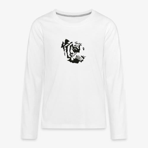 Tiger head - T-shirt manches longues Premium Ado
