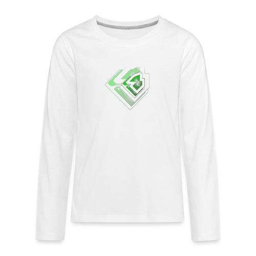 BRANDSHIRT LOGO GANGGREEN - Teenager Premium shirt met lange mouwen