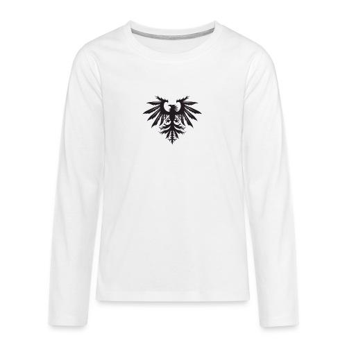 NEW Bird Logo Small - Teenagers' Premium Longsleeve Shirt