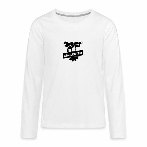 SB transp 1000 png - Teenager premium T-shirt med lange ærmer