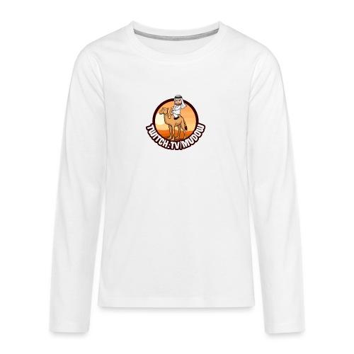 mudowdesign - Teenager premium T-shirt med lange ærmer