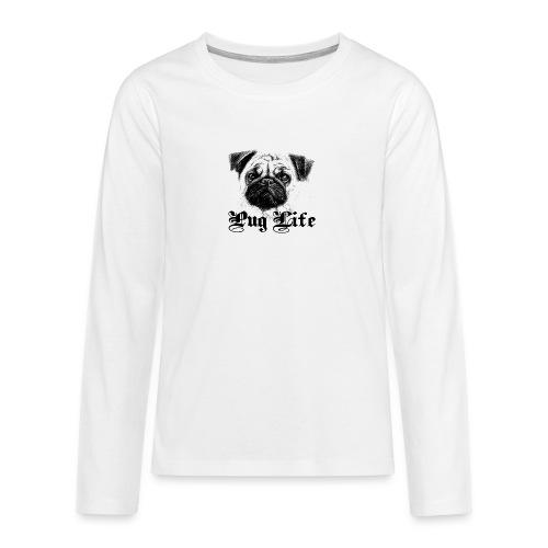 La vie de carlin - T-shirt manches longues Premium Ado