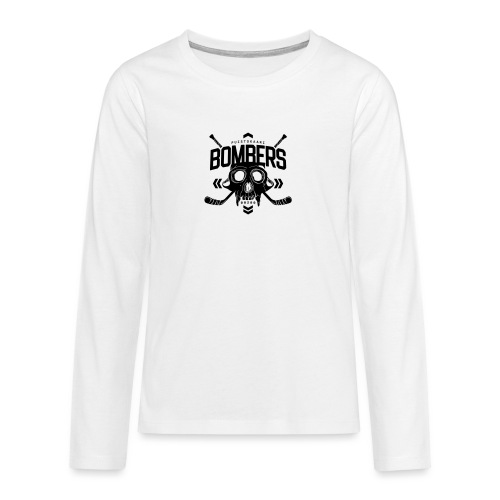 Puistokaari BOMBERS - Teinien premium pitkähihainen t-paita