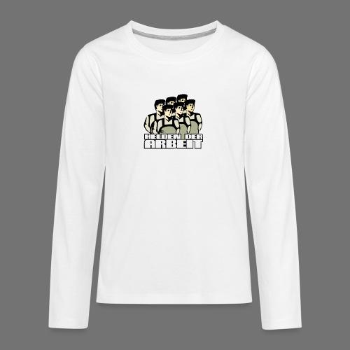 Heroes of työtä - Teinien premium pitkähihainen t-paita