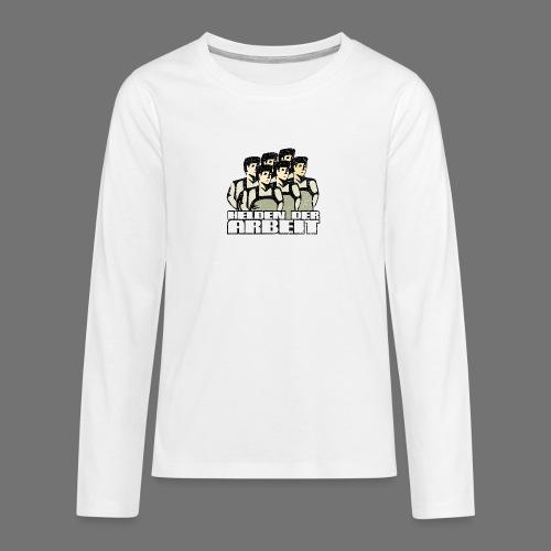 Heroes of työ - työntekijöiden Heroes (oldstyle) - Teinien premium pitkähihainen t-paita