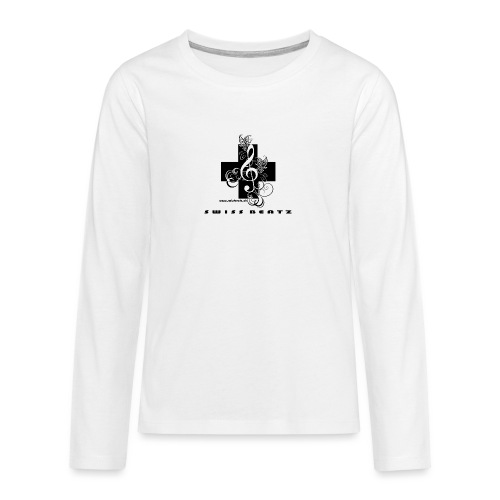 Swiss Beatz Logo with L - Teenager Premium Langarmshirt