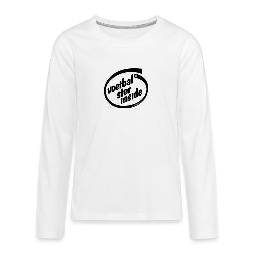 Inside voetbal - Teenager Premium shirt met lange mouwen
