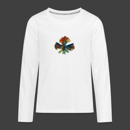 Mayas bird - Teenagers' Premium Longsleeve Shirt