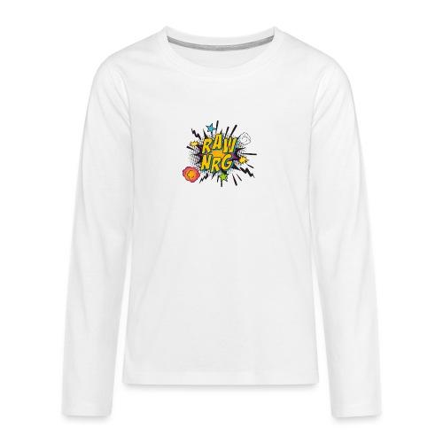 Raw Nrg comic 1 - Teenagers' Premium Longsleeve Shirt