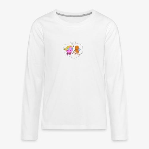 les meilleurs amis - T-shirt manches longues Premium Ado