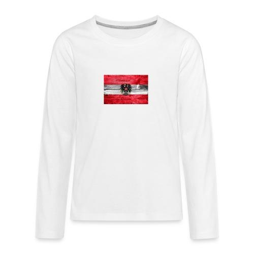 Austria Holz - Teenager Premium Langarmshirt