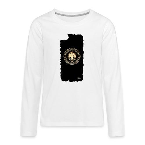 iphonekuorettume - Teinien premium pitkähihainen t-paita