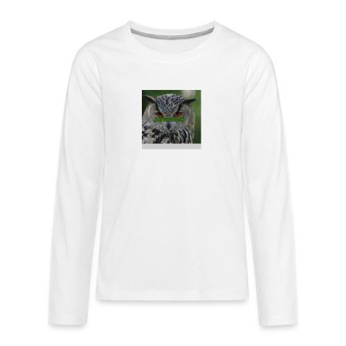 JohannesB lue - Premium langermet T-skjorte for tenåringer