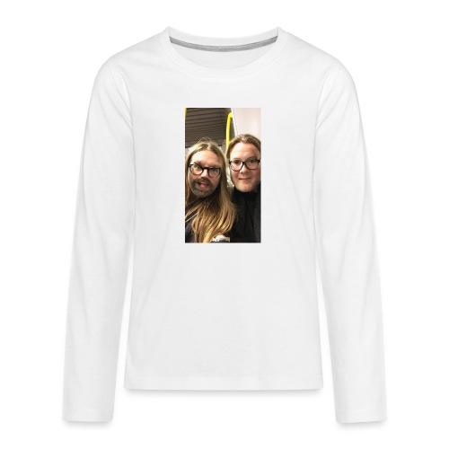 I just hit the switch *flip flip* - Långärmad premium T-shirt tonåring
