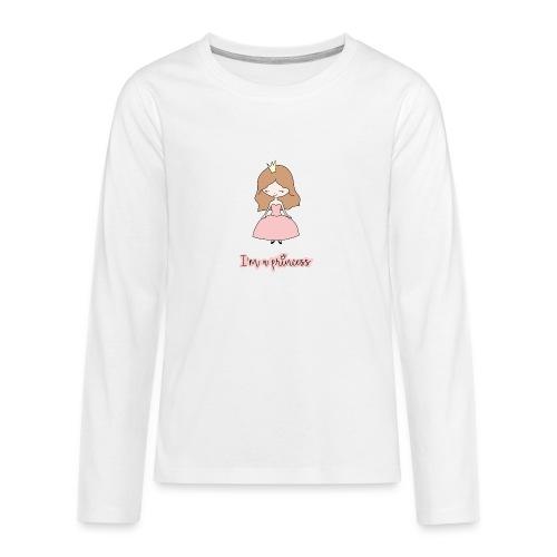 I'm a Princess - Maglietta Premium a manica lunga per teenager