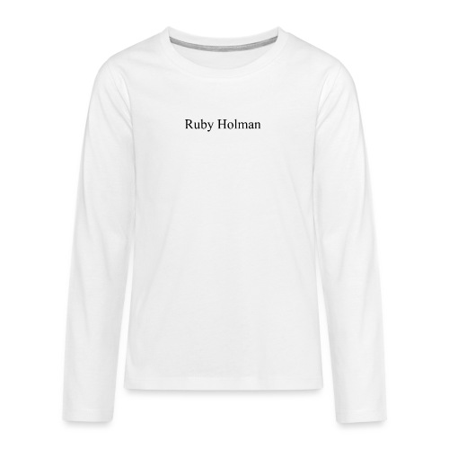 Ruby Holman - T-shirt manches longues Premium Ado