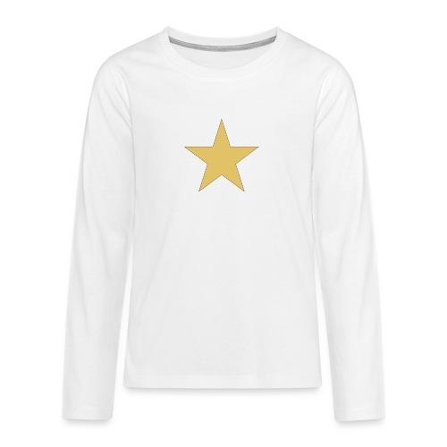 ardrossan st.pauli star - Teenagers' Premium Longsleeve Shirt