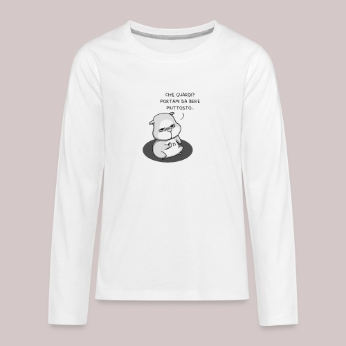 drunk_Hamster - Maglietta Premium a manica lunga per teenager