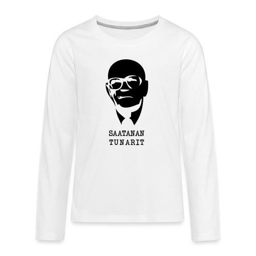 Kekkonen saatanan tunarit - Teinien premium pitkähihainen t-paita