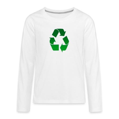 Recyclage - T-shirt manches longues Premium Ado