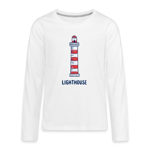 Lighthouse - Teenager Premium Langarmshirt