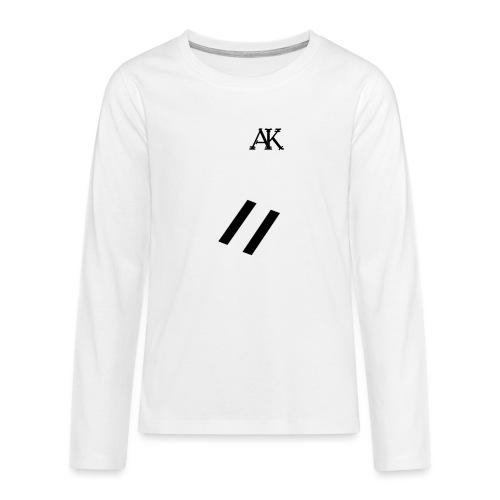 design tee - Teenager Premium shirt met lange mouwen