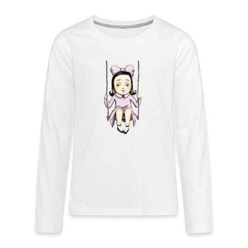 Alice - Teenager Premium Langarmshirt