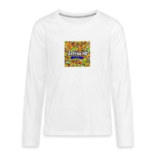 4A31E485 2895 4A49 9202 20A89A8EB95B - Långärmad premium T-shirt tonåring