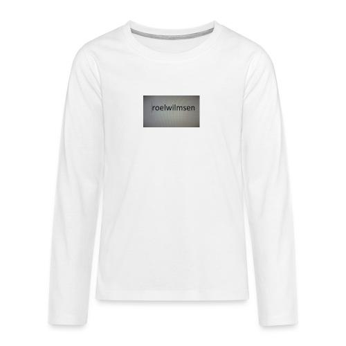 roels t-shirt - Teenager Premium shirt met lange mouwen