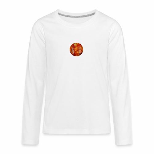 Fire and Fuego - Maglietta Premium a manica lunga per teenager