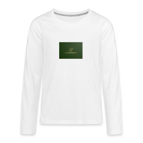 NM Clothing & Merchandise - Teenager premium T-shirt med lange ærmer