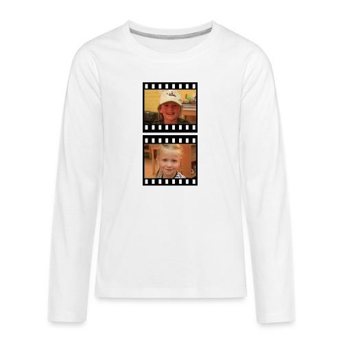 lente tess png - Teenager Premium shirt met lange mouwen