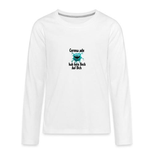 Kein Bock - Teenager Premium Langarmshirt