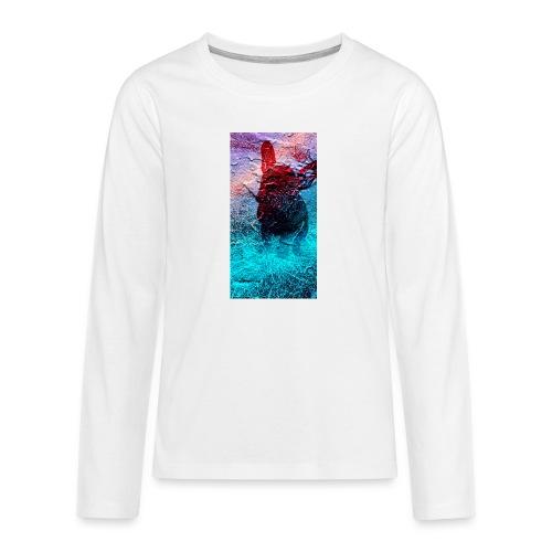 Sweet Frenchie - Teenager Premium Langarmshirt