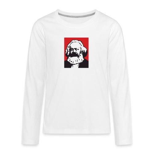 Karl Marx - Maglietta Premium a manica lunga per teenager