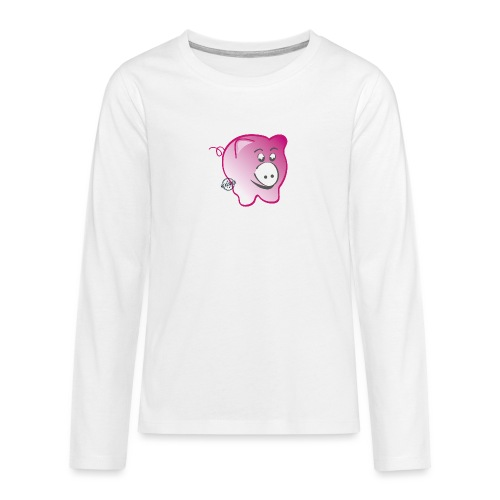 Pig - Symbols of Happiness - Teenagers' Premium Longsleeve Shirt
