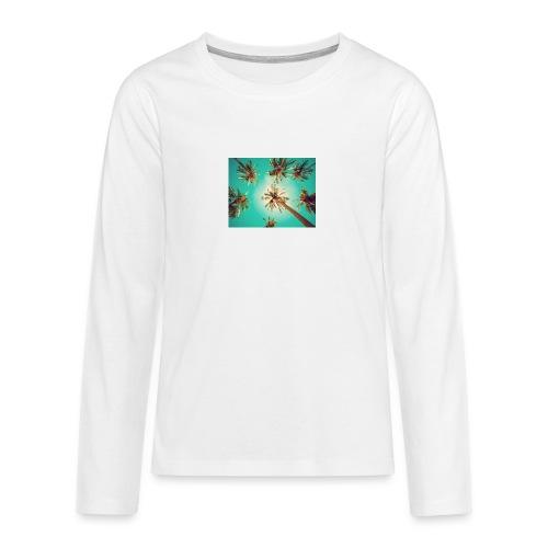 palm pinterest jpg - Teenagers' Premium Longsleeve Shirt