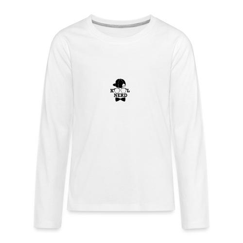 kool nerd - Teenagers' Premium Longsleeve Shirt