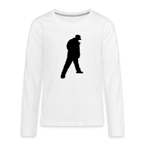 Soops B-Boy Beanie - Teenagers' Premium Longsleeve Shirt