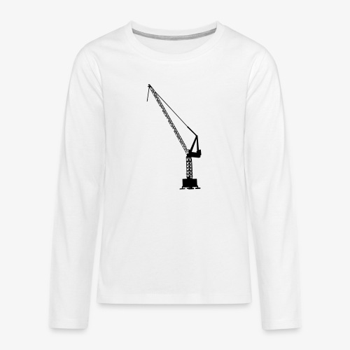 kraan - Teenager Premium shirt met lange mouwen