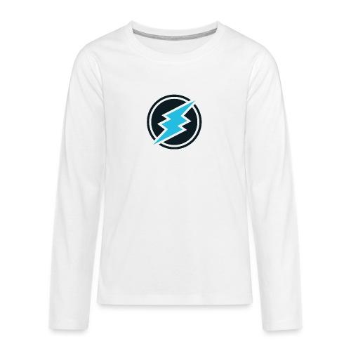 ETN logo - Teenagers' Premium Longsleeve Shirt