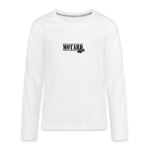 Motard Logo - Maglietta Premium a manica lunga per teenager