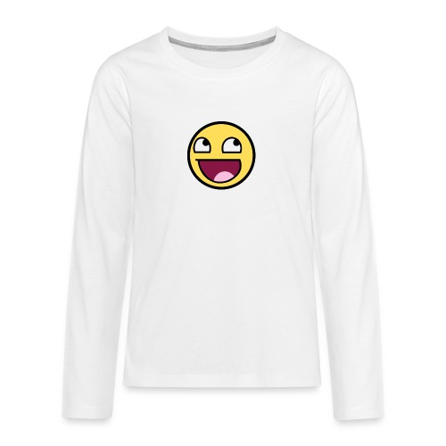 happiness t-shirt - Långärmad premium T-shirt tonåring