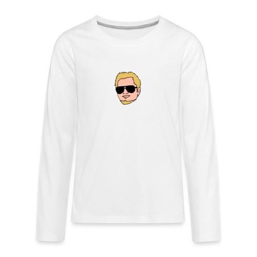 png - Teenager premium T-shirt med lange ærmer