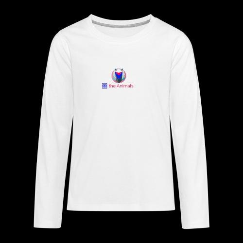 Safe the Animals Kollektion - Teenagers' Premium Longsleeve Shirt
