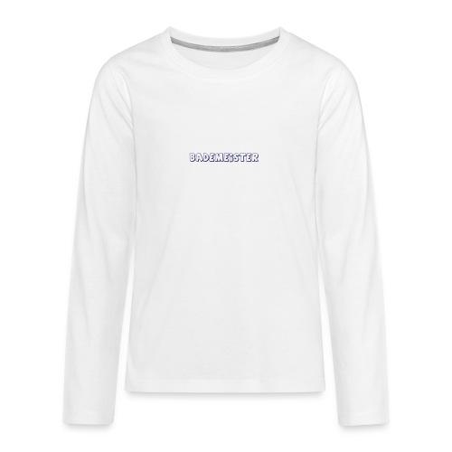 Bademeister Schwimmbad - Teenager Premium Langarmshirt